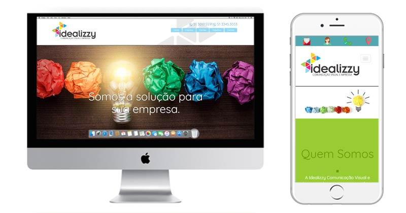 Idealizzy Comunicação Visual e Impressa